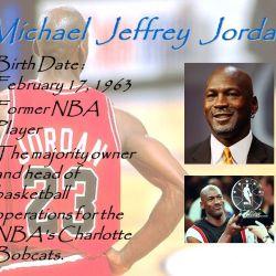 E 1 No 19 林育慧 Michael Jeffrey Jordan Birth Date February 17