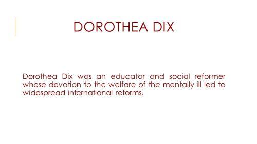 Medium Of Dorothea Dix Quotes