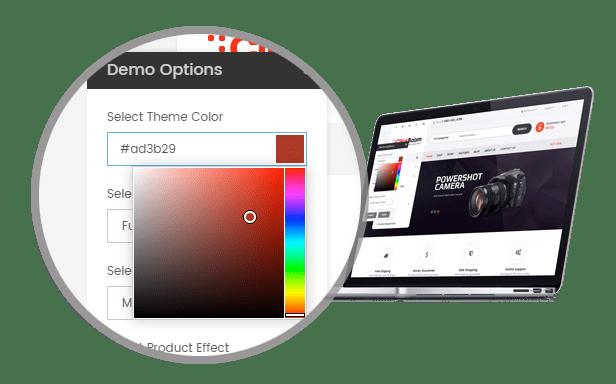 SP ClickBoom - Theme Customization