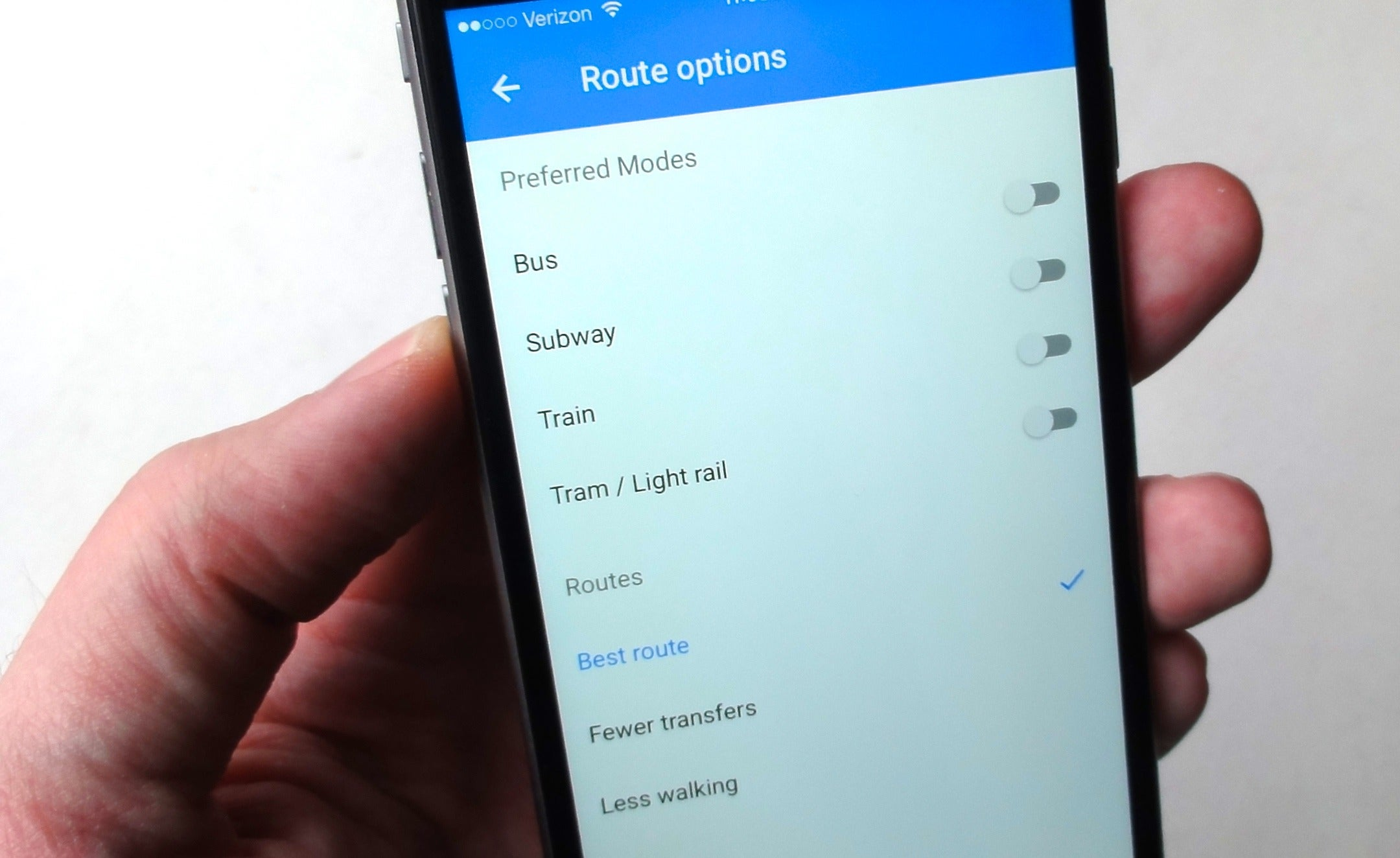 8 great Google Maps tips for Android and iOS   PCWorld google maps app transit preference 8