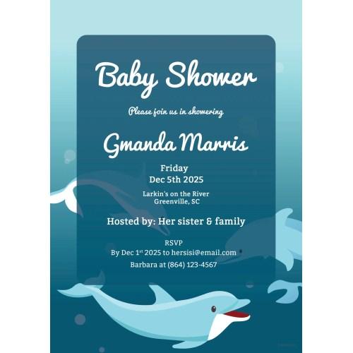 Medium Crop Of Printable Baby Shower Invitations