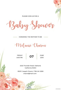 Small Of Baby Shower Invitation Templates