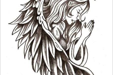 17917 angel tattoo is like having your guardian angel with you all the time