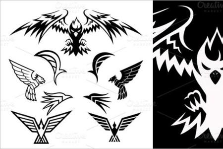 bird symbols tattoo templates 5