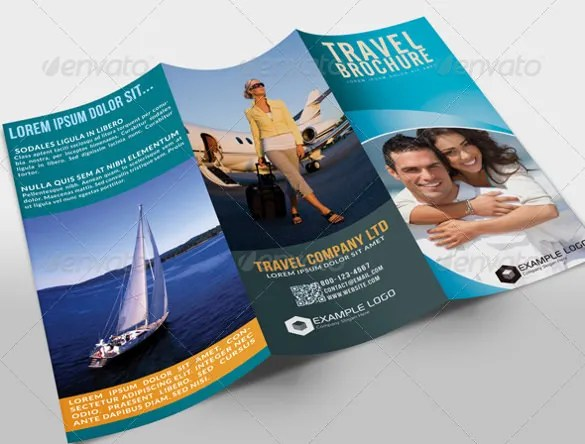 45  Travel Brochure Templates   PSD  AI   Free   Premium Templates tri fold travel brochure template