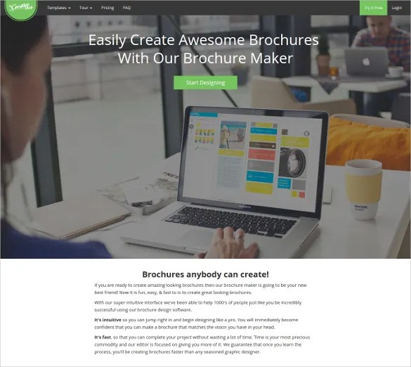 23  Free Brochure Maker Tools to Create Your Own Brochure Design     Create Awesome Brochures online