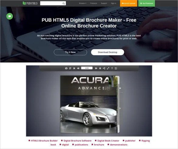23  Free Brochure Maker Tools to Create Your Own Brochure Design     Brochure Maker Free Online Brochure Design