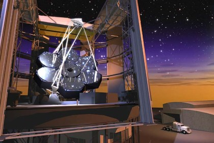 Another artist's renderings of the Giant Magellan Telescope.