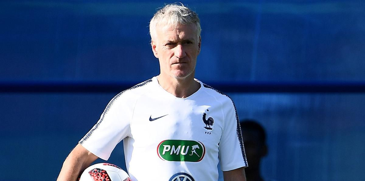Didier Deschamps poised to make coaching history for France   The Star France s head coach Didier Deschamps looks on during a training session at  the Glebovets stadium in