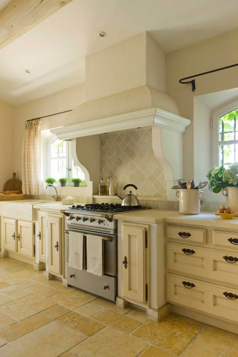 Large Of Country Home Kitchen