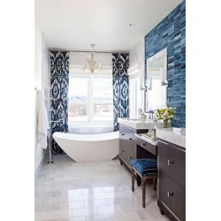 Small Crop Of Gray And White Bathroom