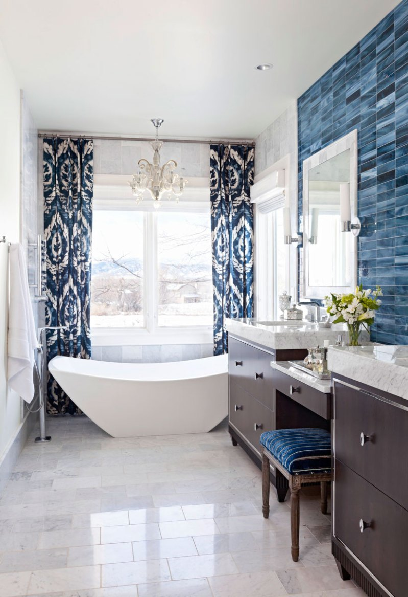 Large Of Gray And White Bathroom