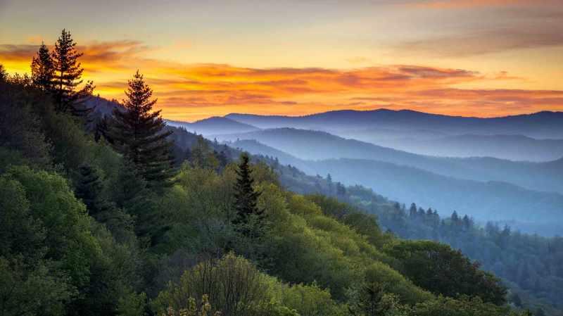 Large Of Smokey Mountain Tops