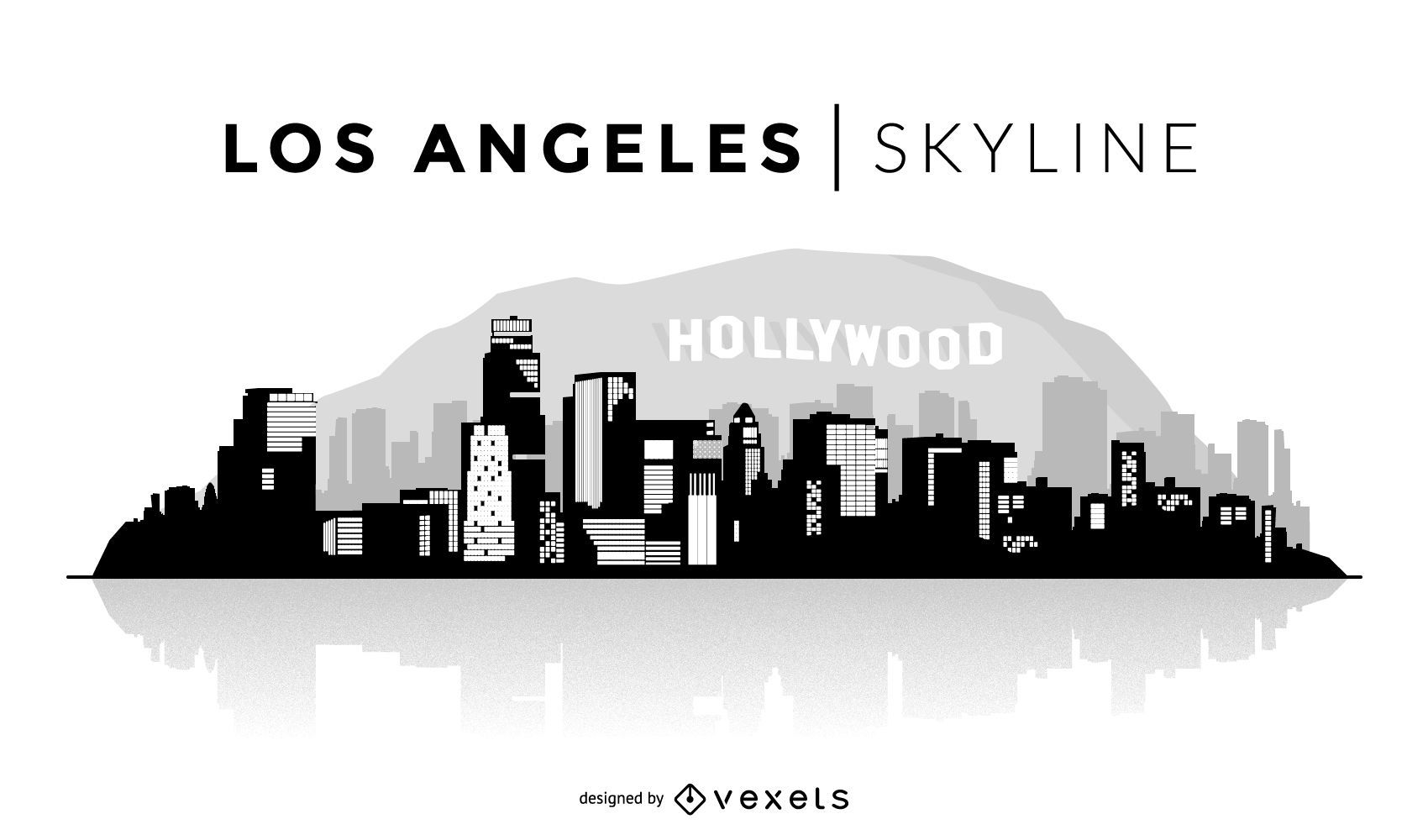 Gracious Los Angeles Skyline Download Large Image User Los Angeles Skyline Silhouette Vector Download Los Angeles Skyline Silhouette Vector houzz-02 Los Angeles Skyline Silhouette