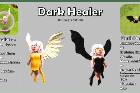 darkhealer poster