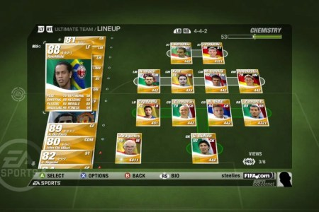 fifa 09 ultimate team