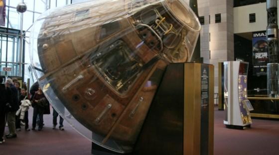 Il Museo di Neil Armstrong a Wapakoneta, in Ohio.