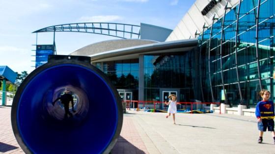 Il Centro della scienza di Ontario a Toronto, in Canada.