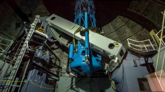 Il Telescopio Hale dell'Osservatorio Palomar a San Diego, in California.