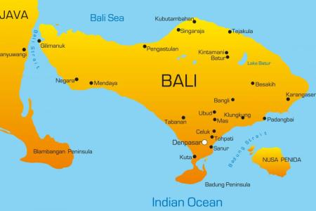 Map showing bali map of bali gumiabroncs Images