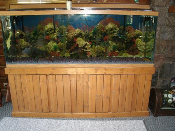 150 gallon fish tank   $650 (Otter Lake) for sale in Flint, Michigan