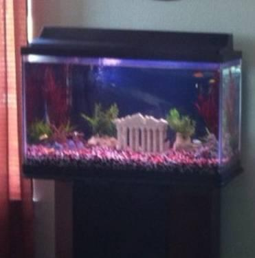 Fish tanks for sale 30 gallon aqua 30 gallon tower for Tower fish tank