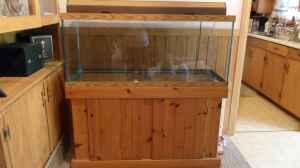 75 Gallon Fish tank with wood stand for sale   (Riverton) for Sale in
