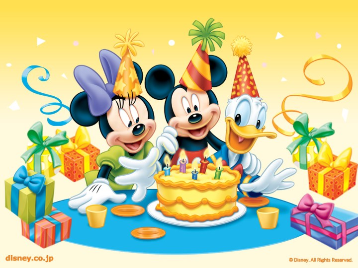 Mickey Mouse Happy Birthday.6 Animated Happy New Year Clipart Free 2014