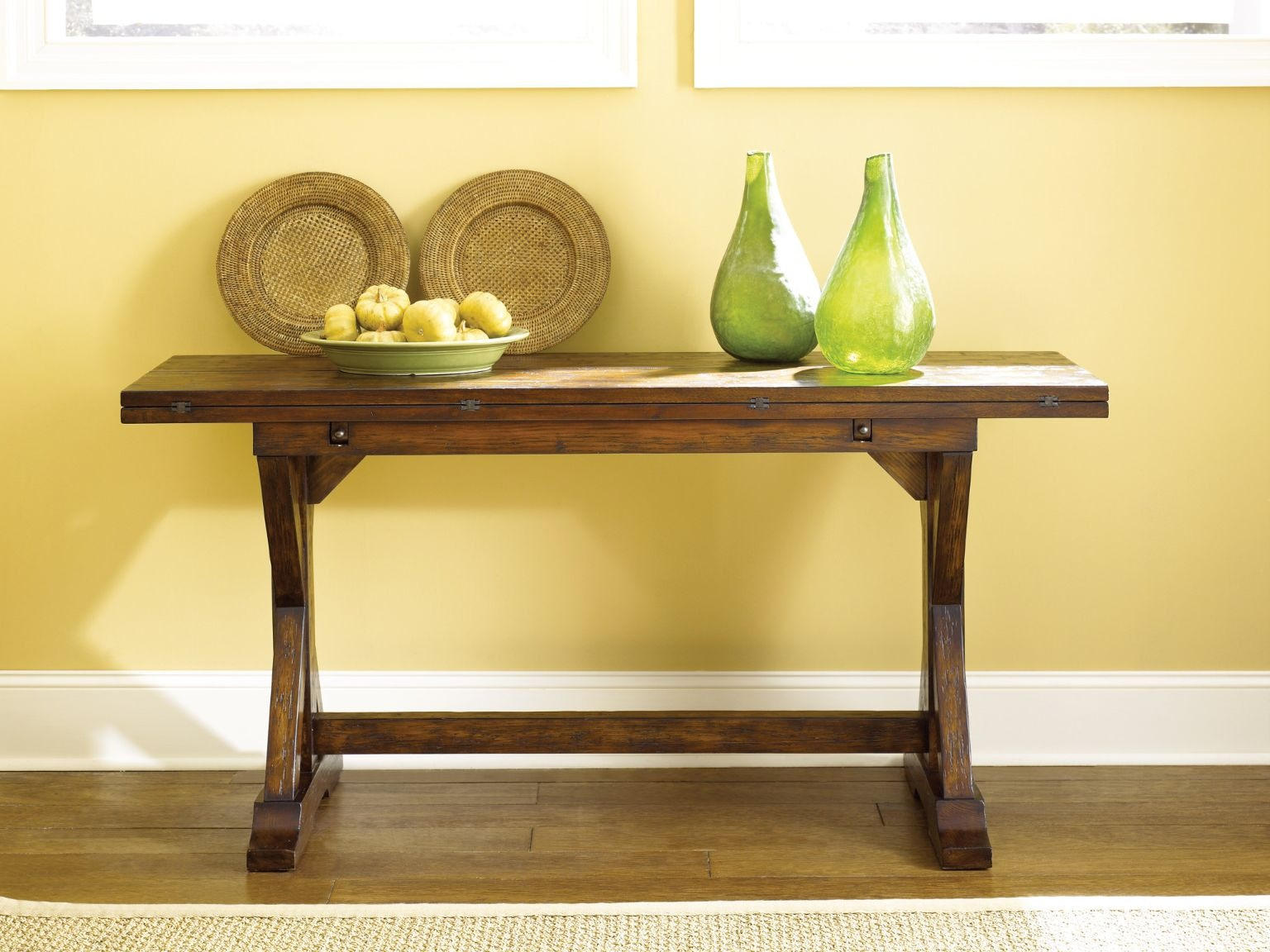Fantastic Hammary Flip Console Table From Walter Smi Furniture Flip Console Table Walter E Smi Outlet Hours Walter E Smi Outlet Store Bloomingdale houzz-02 Walter E Smithe Outlet