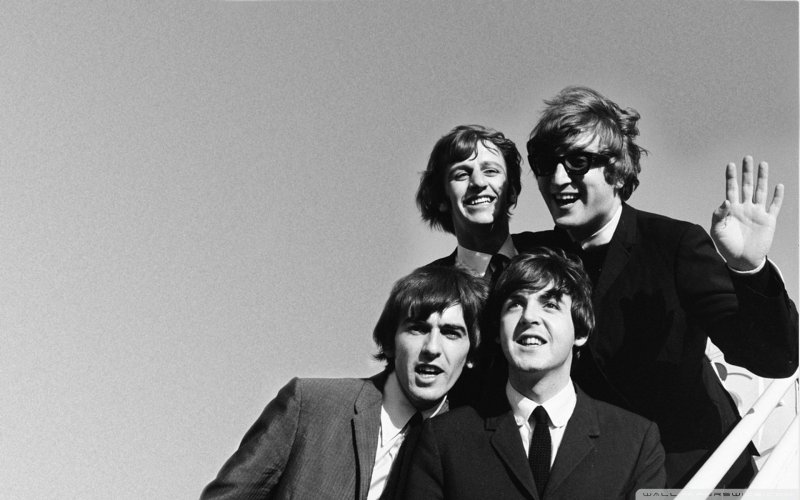 Large Of The Beatles Wallpaper