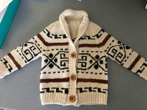 Finished Little Dude sweater!