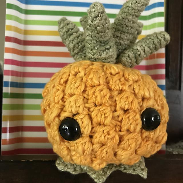 Nutmegknitter's Crochet Pineapple