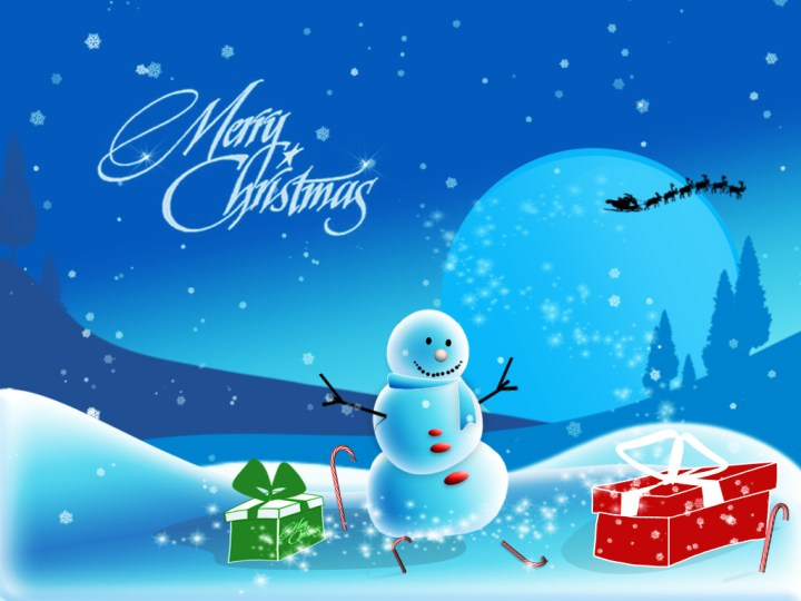 Merry Christmas.7 Happy New Year Rangoli Design Images 2014