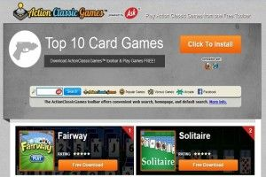 Action Classic Games Toolbar