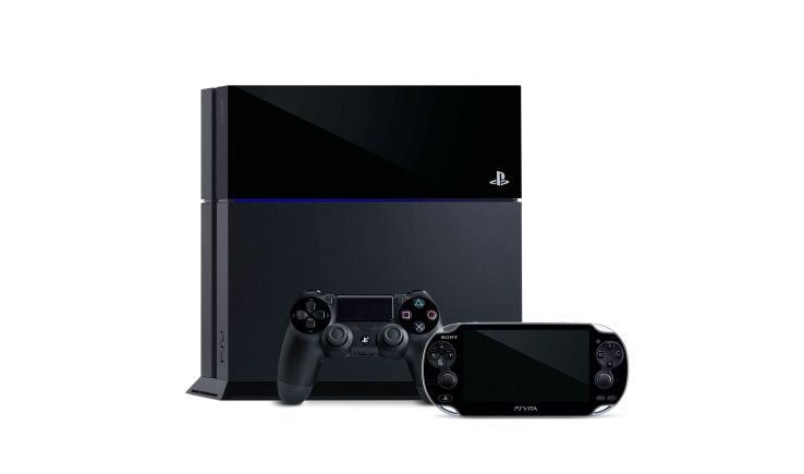 PS4 with PS Vita