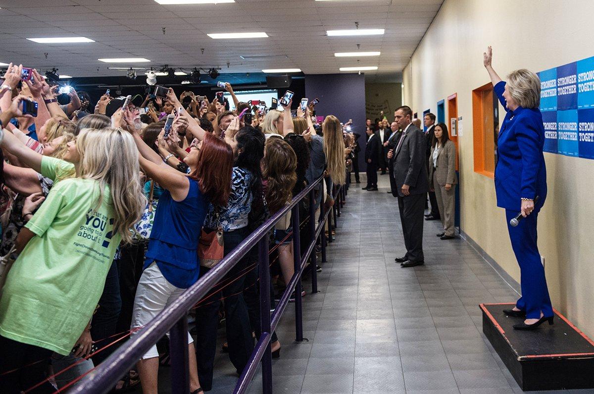 Hillary, le selfie et la Caverne de Platon