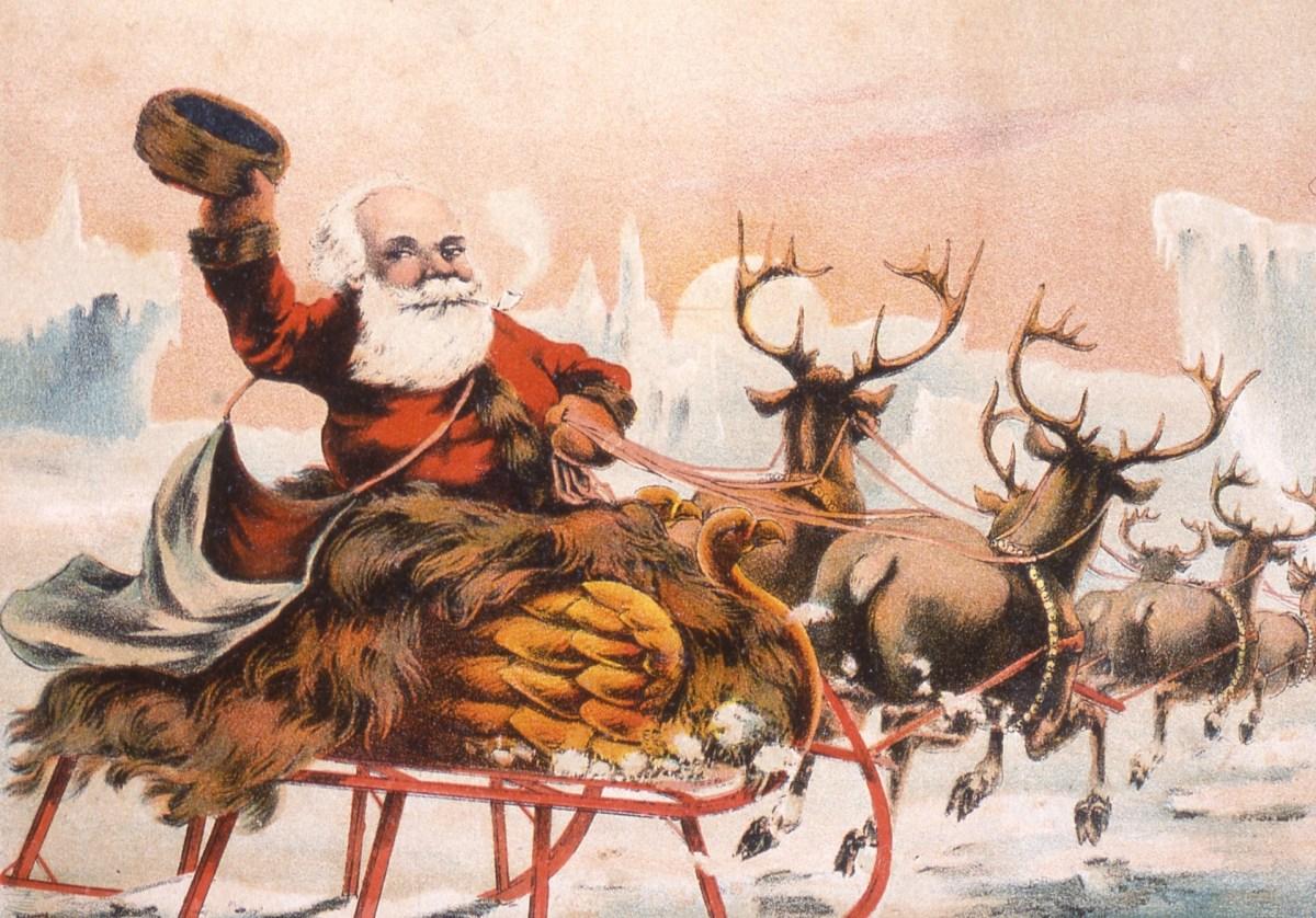 Présence du père Noël