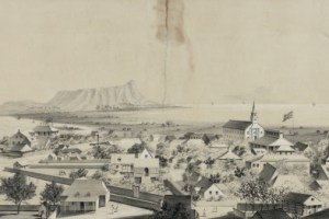 No._2._View_of_Honolulu._From_the_Catholic_church._(c._1854)-center image-400