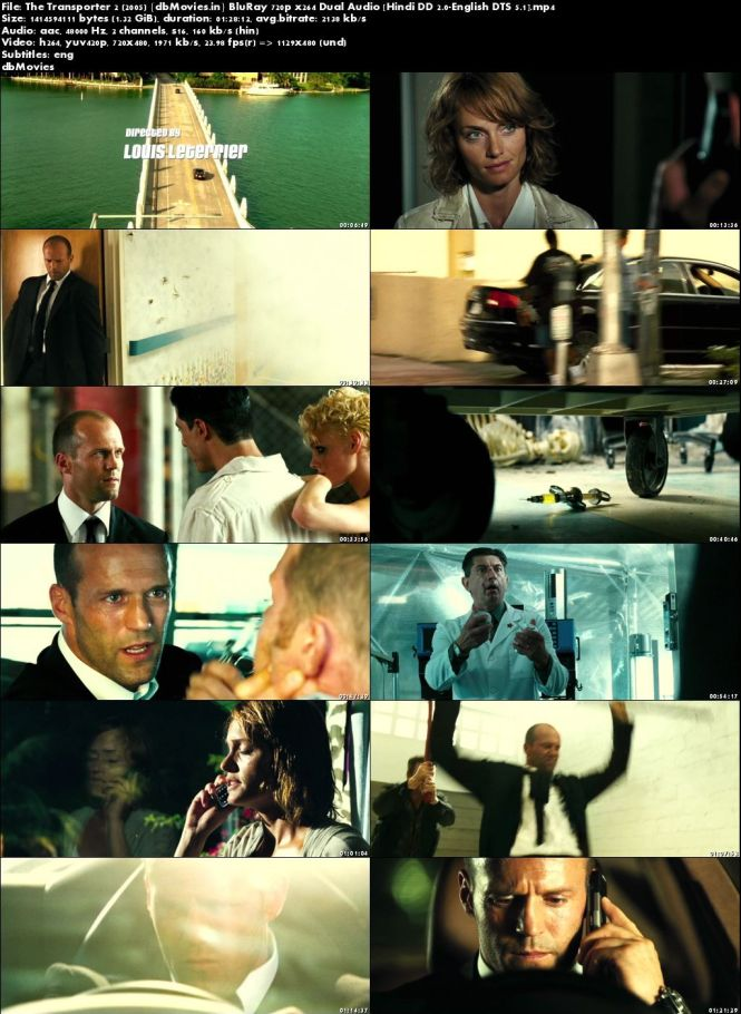 Screen Shots Transporter 2 2005 Full Movie Download Hindi Dubbed 720p Free