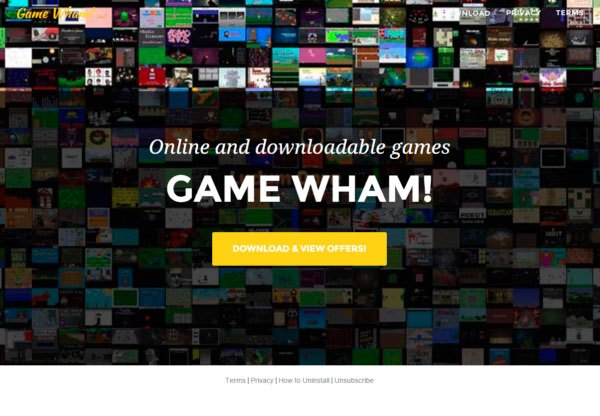 Ads by Game Wham