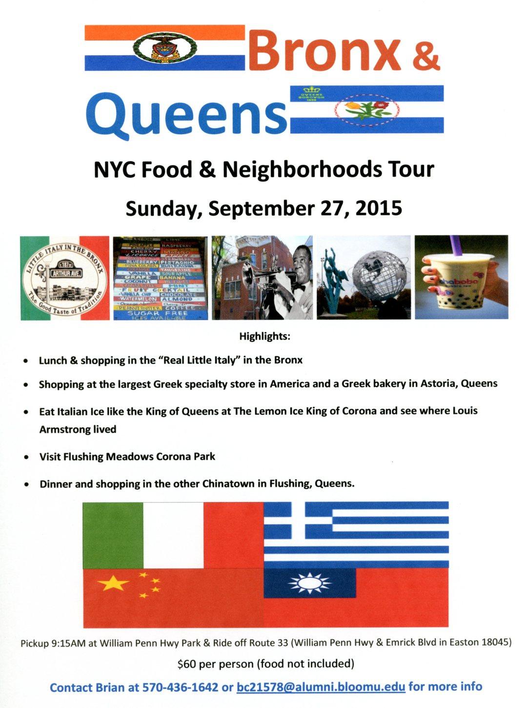 Bronx & Queens