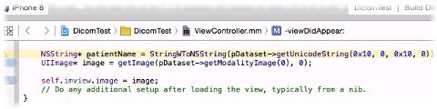 Imebra Dicom SDK on Mac targeting an iPhone 6