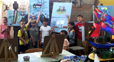 June 2016 Announcements from Rogue Gallery : summer art camp for youth