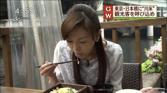 【擬似フェラキャプ画像】食レポしてるタレント達の表情がフェラ顔にしか見えないんだがw 13