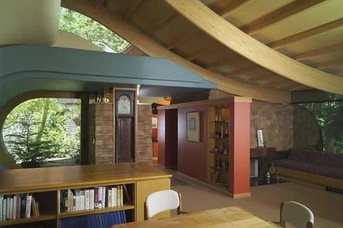необычный дом в лесу дизайн архитектура