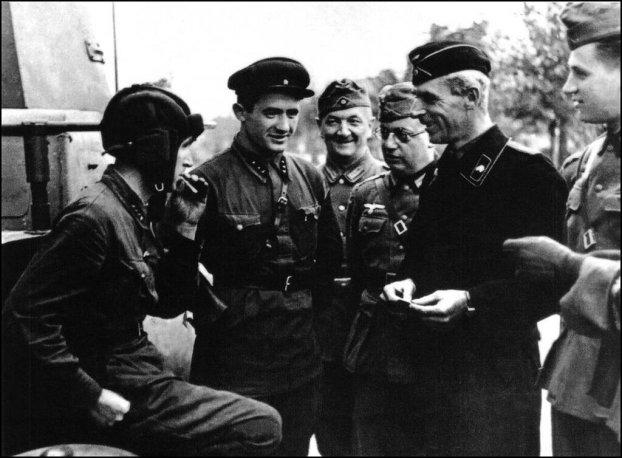 Brześć 22.09.1939 - braterstwo broni Rosjan i Niemców