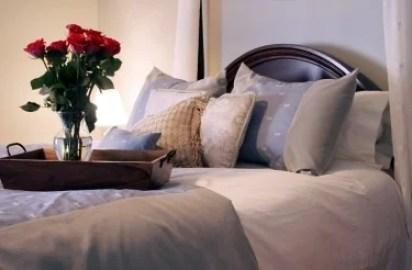романтичный декор спальни