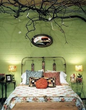 интересная спальня