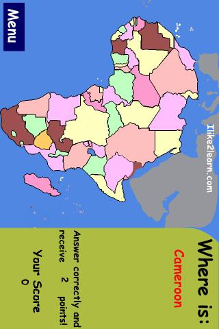 map games for africa