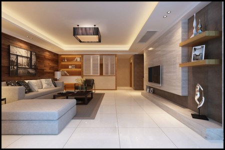 large modern living room fully furnished 3d model 7594aef5 52c8 4865 8242 4fc815541dd4